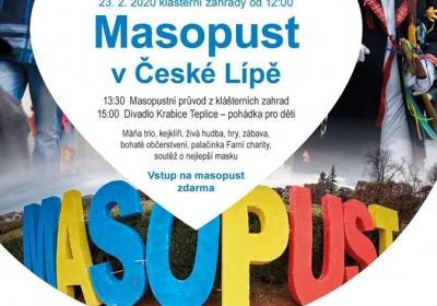 Masopustní veselí v České Lípě 2019