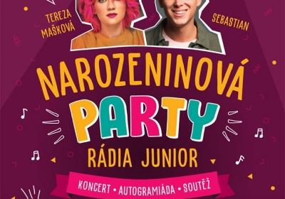 Narozeninová párty rádia junior 2020