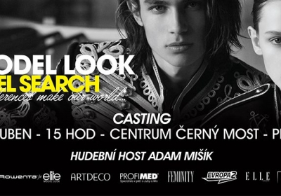 Casting Elite Model Look v Centru Černý Most