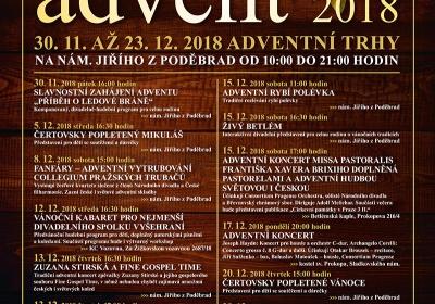 Advent 2018 na náměstí Jiřího z Poděbrad