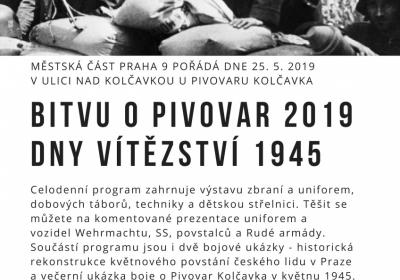 Bitva o pivovar Kolčavka 2019