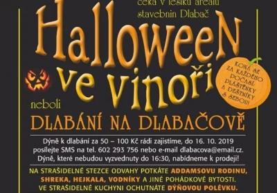 Halloween ve Vinoři neboli dlabání na Dlabačově 2019
