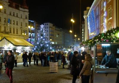 Vánoční trhy 2019 u Palladia