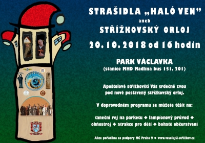 Haló ven 2018 - aneb Střížkovský orloj