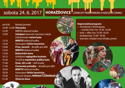 Slavnosti Kaše 2017