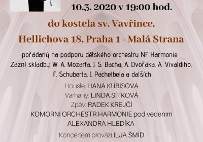 Koncert v kostele sv. Vavřince Pod Petřínem