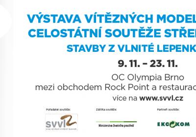 Brno zakončí putovní výstavu vodních nádrží z vlnité lepenky