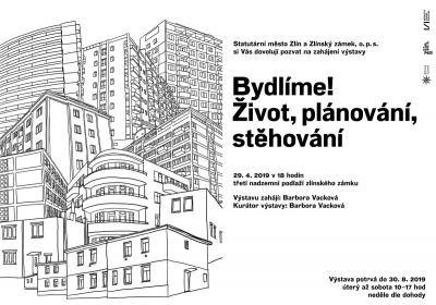 """Bydlení ve Zlíně ve 20. století představuje výstava """"Bydlíme! Život, plánování, stěhování"""" na zlínském zámku"""
