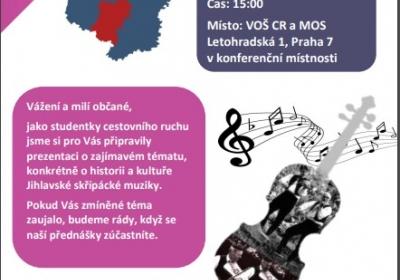 Přednáška - Skřípácká muzika na Jihlavsku