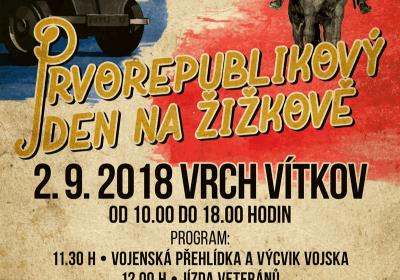Prvorepublikový den na Žižkově