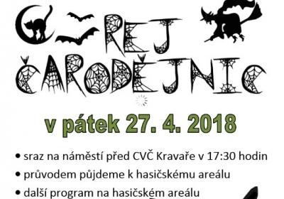 REJ ČARODĚJNIC 2018 – Kravaře