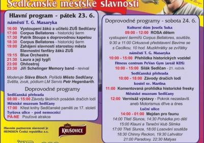 Sedlčanské městské slavnosti 2017