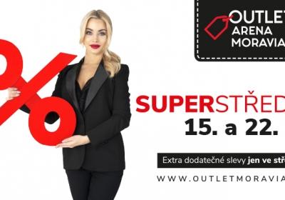 Outlet Arena Moravia zve na poslední letošní Superstředu