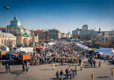Jarní trhy na Výstavišti
