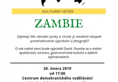 Kulturní večer: Zambie