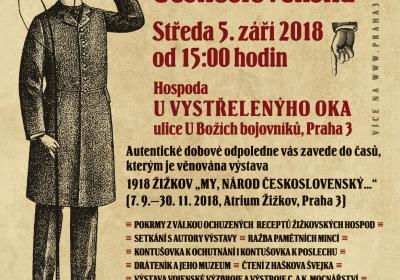 Žižkov slaví vznik republiky aneb jak se žilo na Žižkově na podzim roku 1918