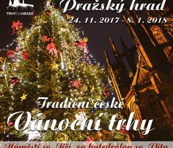 Vánoční trhy na Pražském hradě 2017