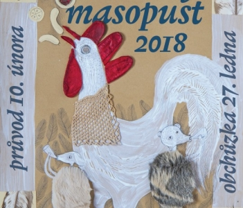 Masopust v Roztokách u Prahy 2018