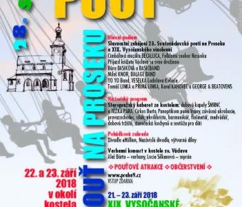 SVATOVÁCLAVSKÁ POUŤ NA Proseku 2018 - 28. ročník