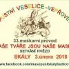 33. ročník tradiční masopustní veselice ve Skalách u Protivína 2018