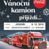 Vánoční kamion Coca-Cola 2018 - Jeseník