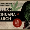 Million Marihuana March 2019 Prague